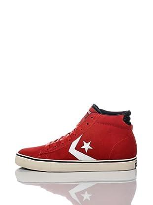 Converse Zapatillas Pro Leather (Rojo)