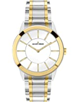 Jacques Lemans Analog White Dial Women's Watch - 1-1576J