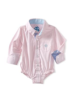 Andy & Evan Baby Boys Shirtzie (Pink Oxford)