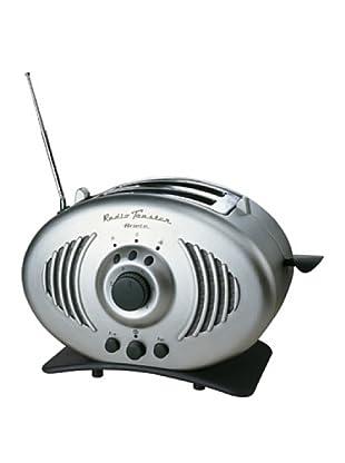 Ariete 118 Tostapane Radio Toaster silver