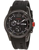 red line Men's 50031YM-BB-01 Boost Black Dial Black Silicone Watch