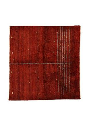 Design Community By Loomier Teppich Gabeh Bushir rot 150 x 145 cm