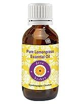 Pure Lemongrass Oil 30ml (Cymbopogon Citratus) 100% Natural & Pure
