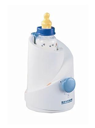 Severin 3176 - Calentador para biberones (120 W, termostato), color blanco/azul
