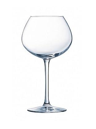Chef & Sommelier Copas De Vino Estuche 6, 35 Cl Modelo Vino Tinto Grands Cepages
