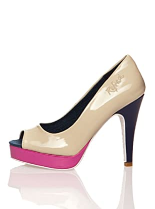 Refresh Zapatos Charol (Beige)