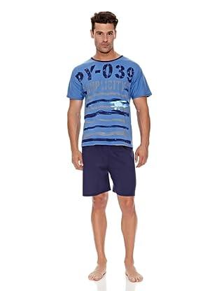 Kumy Pijama Caballero Simpli (Azul)