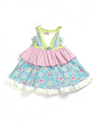My Doll Kleid (grün/blau/rosa/weiß)