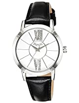 Kenneth Cole Classic Analog Silver Dial Women's Watch - 10024823