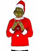 Grinch Costume Ad Lg Xl