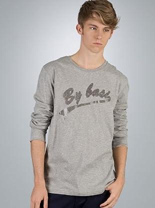 By Basi Camiseta Básica (gris)