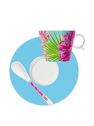 Ritzenhoff Grano Amado Kaffeetasse mit Untertasse und Löffel Design von DeboraJedwab2009