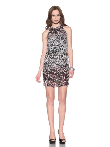 Andrew Marc Collection Women's Animal Printed Sleeveless Dress (Multi)