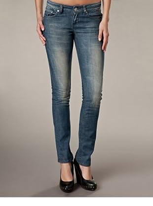 LTB Jeans Aspen Slim Fit Straight Leg Mid Rise (Dunkelblau)
