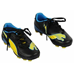 Sports Shoes - Black/Yellow/Blue (6-11 Years)