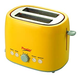 Prestige PPTPKY Pop up Toaster-Yellow