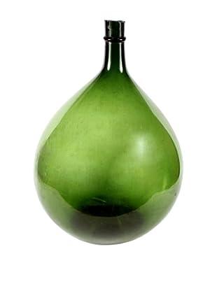 X-Large French Demijohn, Green