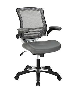 Modway Edge Vinyl Office Chair (Grey)