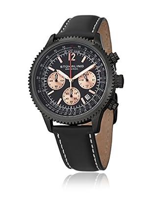Stührling Uhr mit Japanischem Uhrwerk Monaco  schwarz 42 mm