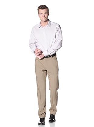 Incotex Ivory Men's Twill Hi-Twist Trouser (Tan)