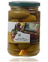 Fiordelisi Flordelisi Green Olives Bella Di Cerignola, 280 grams