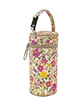 Pink Lining Bottle Holder, Cottage Garden