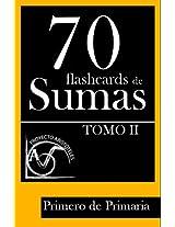 70 flashcards de sumas para Primero de Primaria (Tomo 2) (Spanish Edition)