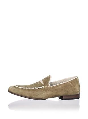 Donald J Pliner Men's Vian Loafer (Khaki/Sand)