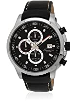 Kenneth Cole Dress Sport Analog Black Dial Mens Watch-IKC8093