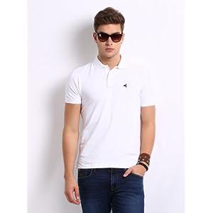 Wrangler Men's Polo T-Shirt-White