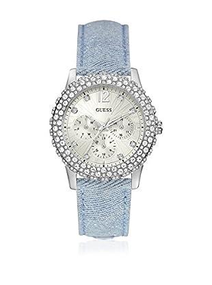 Guess Uhr mit japanischem Mechanikuhrwerk Woman Dazzler Silver Tone silberfarben 40 mm