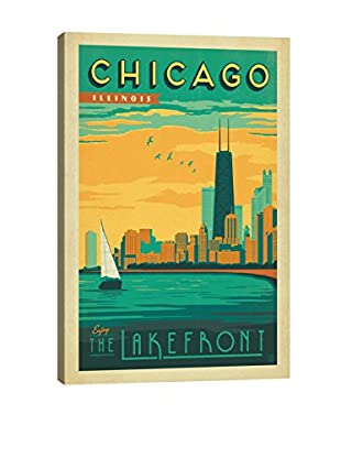 Anderson Design Group Chicago, Illinois Lakefront View Canvas Print, Multi, 26