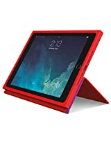 Logitech BLOK Protective Case for iPad Air 2, Red/Violet (939-001249)