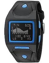 Nixon A530018 Lodown Chronograph Black Blue Men Watch New