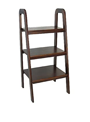 Charleston Ladder Stand, Brown