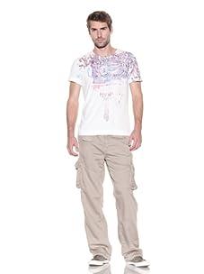 Z Brand Men's Short Sleeve Graphic Tee (White)