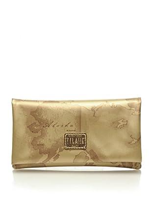 Alviero Martini 1a Classe Beauty Portafoglio Overlight (Oro)