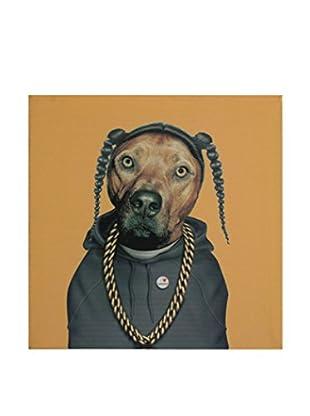 LO+DEMODA Leinwandbild Snop Dog