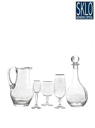 Cristal de Bohemia Juego 38 Piezas Antoinette