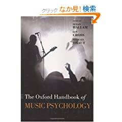 Oxford Handbook of Music Psychology (Oxford Library of Psychology)