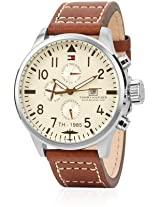Tommy Hilfiger Analog Watch - For Men - Brown - NTH1790684