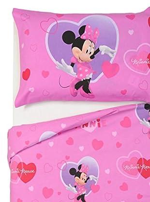 Disney DYLEPCO001843AC Funda Nórdica 2 piezas, Minnie