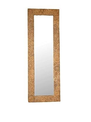 Jeffan Buzz Rectangle Mirror, Tan