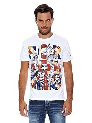 Pepe Jeans London Camiseta Hammers Mark (Blanco)