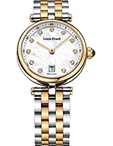 Louis Erard Analog Mother of Pearl Dial Women Watch - 10800AB24.BMA26