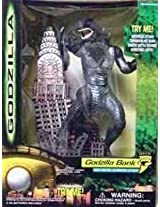 Electronic Godzilla Bank With Brutal Automatic Attack Action!
