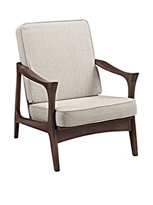 Modway Canoe Lounge Chair, Brown
