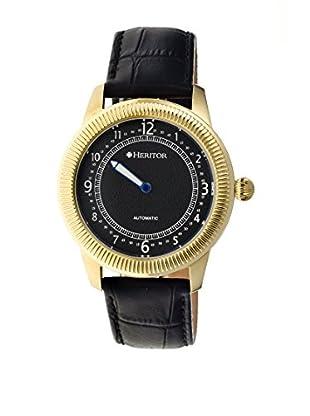 Heritor Automatic Uhr Hoyt Herhr2404 schwarz 49  mm