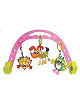 Playgro Jig Along Travel Play Arch for Baby Girl
