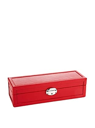 Morelle & Co. Tiffany Vault Jewelry Box (Red)